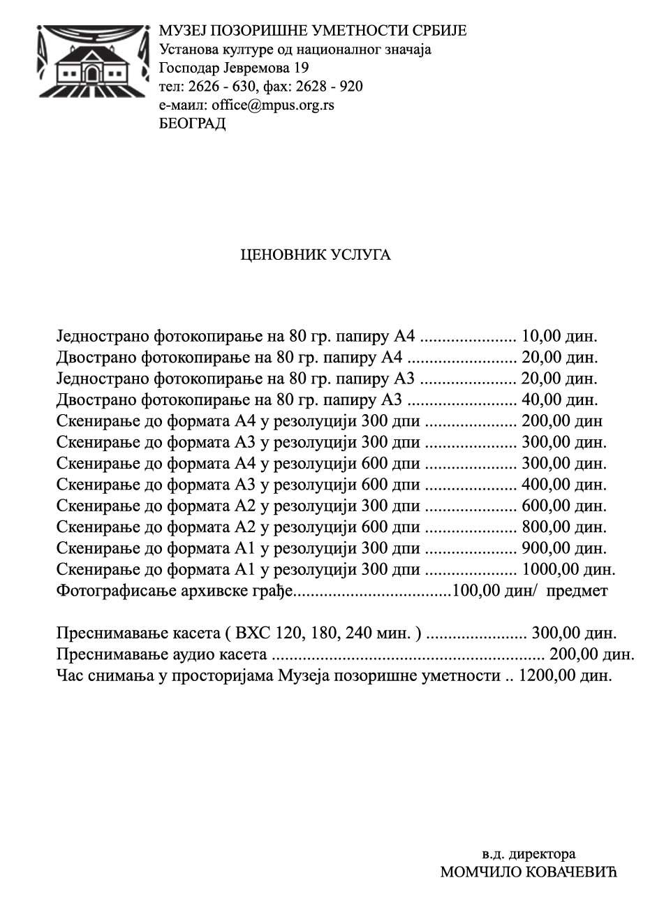 Cenovnik-usluga