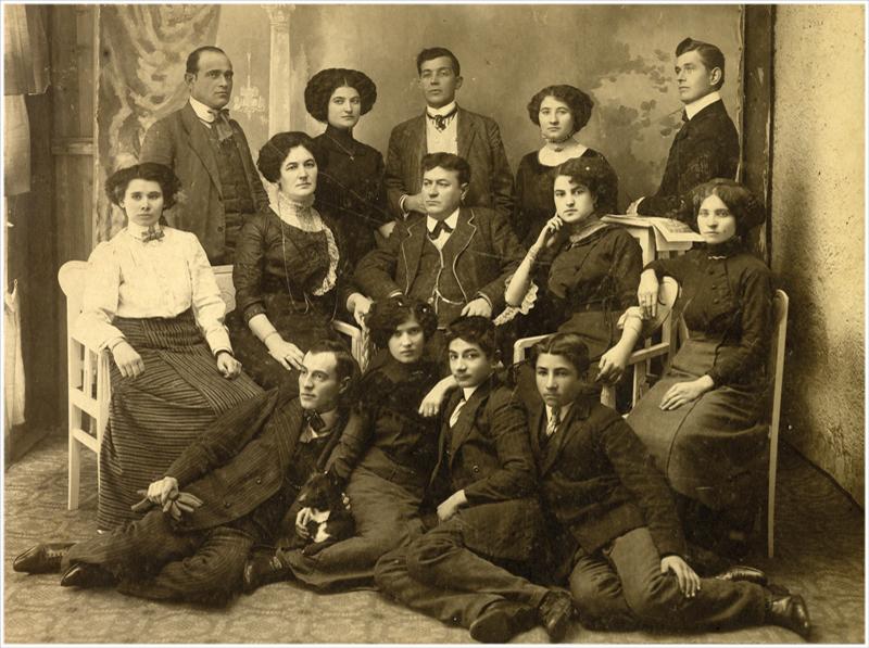 Бакићево путујуће позориште, Ћуприја, око 1912.