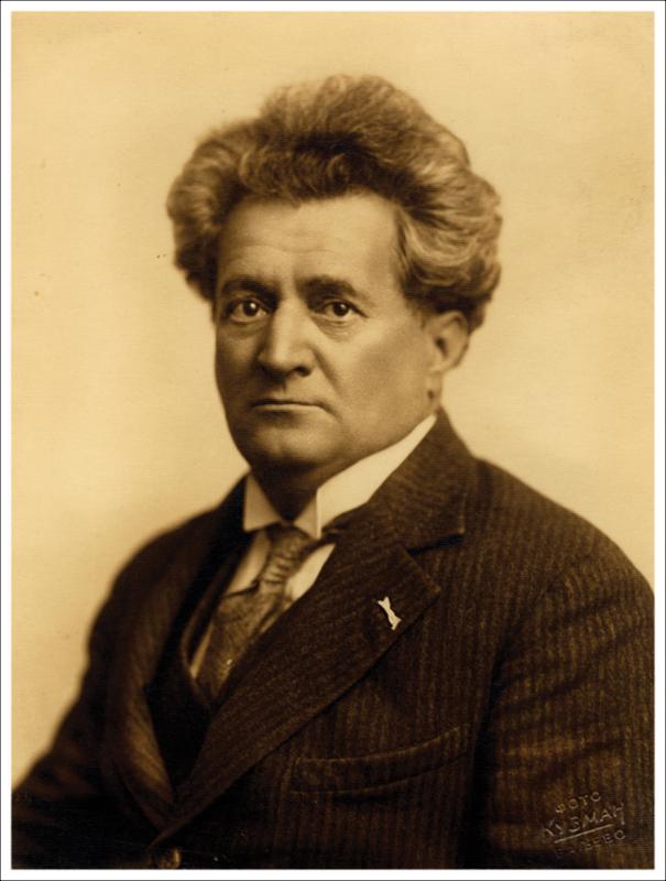 """Љубомир Рајичић-Чврга основао је своје прво  путујуће позориште 1897, потом је са глумцем  Душаном Топаловићем водио позориште  """"Гундулић"""" (1904-1912)  и Нишко градско повлашћено позориште (1920-1929)"""