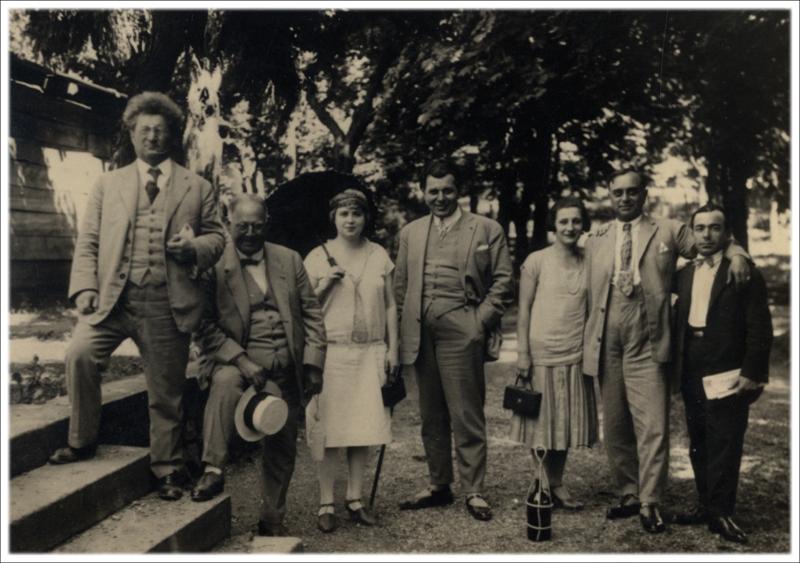 Позориште Љубомира Рајичића-Чврге  у Нишкој бањи, 1923.
