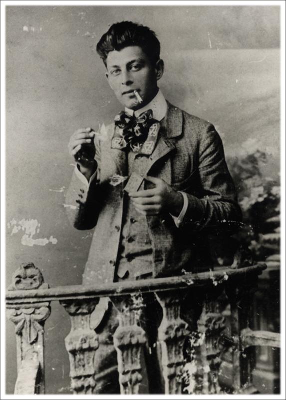 Петар Христилић, управник путујућег позоришта  (1919-1925) – портрет
