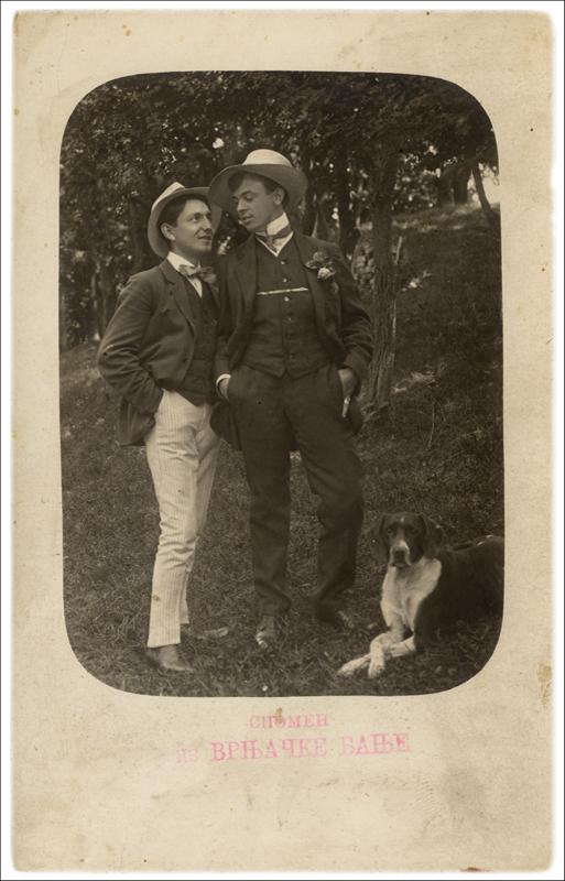 Милош Обреновић и Јосиф Срдановић